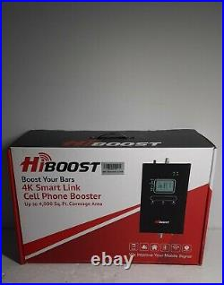 HiBoost 4K LCD Smart Link Cell Phone Signal Booster