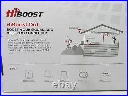 HiBoost Dot cell phone signal booster increase 3G and 4G LTE cellular connectivi
