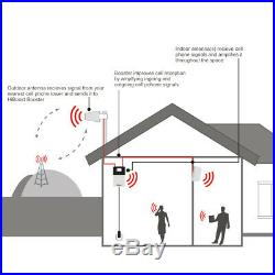 HiBoost Home 10K Plus Cell Phone Signal Booster Kit for AT&T, Verizon, T-Mobile
