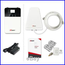 HiBoost Home 4K Plus Cell Phone Signal Booster Kit for AT&T, Verizon, T-Mobile