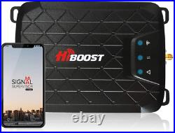 Hiboost 3-Band Cell Phone Signal Booster Up To 1,000 Sq Ft For Home Office, Boo