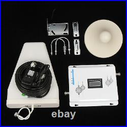 High Gain 75dB Mobile Cell Phone Signal Booster Repeater Amplifier Kit 2G/3G/4G