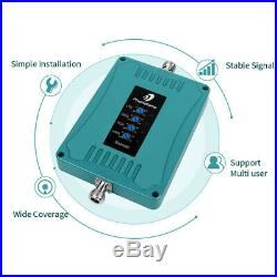 Home 4G LTE Cell Phone Signal Booster 5 Band For AT&T Verizon 3G 4G Repeater Kit