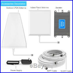 Home 4G LTE Cell Phone Signal Booster/ Repeater/ Amplifier up to 5000 sq ft