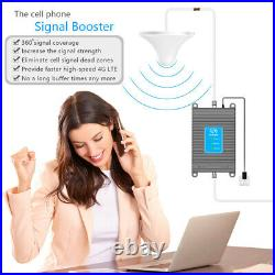 Home Cell Phone Signal Booster Band 2/5/12/17 FDD Mobile Phone Signal Repeater