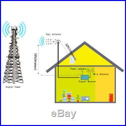 Home Cell Phone Signal Booster Verizon ATT 700MHz Band 13/12/17 Signal Repeater