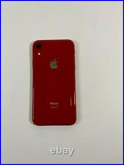 IPhone XR 128GB Red Unlocked Unable to activate, No signal, LCD spot, Bent