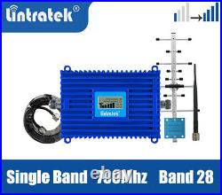 Lintratek B28 LTE Single Band 700mhz Cellular Cell phone Signal Repeater Kit