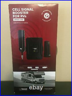 NEW weBoost Drive X RV Vehicle Cell Phone Signal Booster for RV Camper