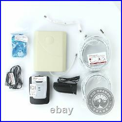 OPEN BOX weBoost 471101 Basic Home Cell Phone Signal Booster Kit White / Black