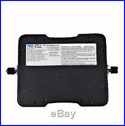 Pro-Cell Cell Phone Signal Booster For Car, RV, Truck, 4G LTE, All Carriers