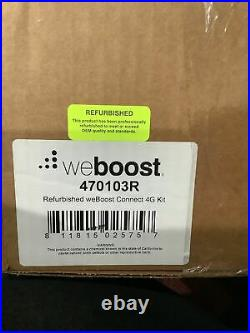 REFURBISHED weBoost Connect 4G Cell Phone Signal Booster up to 5000 sq ft 470103