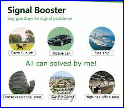 Repeater 800/900/1800/2100mhz Cell Phone Cellular Signal Booster Yagi Antenna