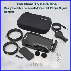 SolidRF Cell Phone Signal Booster for Car & Portable Mobile