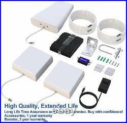 SolidRF SIGNAL PLUS Cell Phone Booster for Multi Room Home or Office