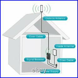 SureCall Fusion4Home Cell Phone Signal Booster for Home Omni/Panel Open Box