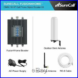 SureCall Fusion4Home Omni/Whip, Cell Phone Signal Booster Kit for All Carriers 3