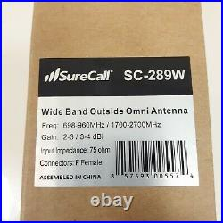 SureCall SC-PolyH-72 Fusion4Home 3.0 Cell Phone Signal Booster 72dB Omni Kit