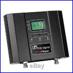 Top Signal 2X HiBoost 10K Cell Phone Signal Booster Upgraded (TS543021-O1D4)