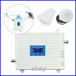 Tri Band 900/1800/2100 Cell Phone Signal Booster GSM DCS WCDMA LTE Repeater USA