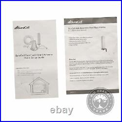 USED SureCall SC-Poly-DT-O-Kit Flare Home Cell Phone Signal Booster Kit