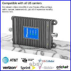 Verizon AT&T 850/1900/700MHz Cell Phone Signal Boosters 2G 3G 4G Repeater