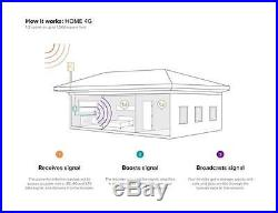 WeBoost 4G Cell Phone Signal Booster Kit for Home and Office