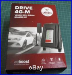 WeBoost 4G-M 470121 Universal Cell Phone Signal Booster for Vehicles-Black