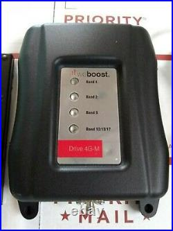 WeBoost Drive 4G-M Cell Phone Signal Booster with Inside Antenna and Power Cord