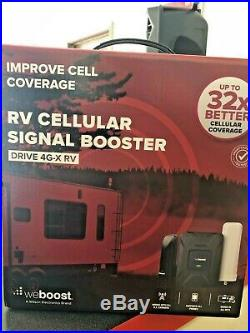 WeBoost Drive 4G-X RV Cell Phone Signal Booster Black