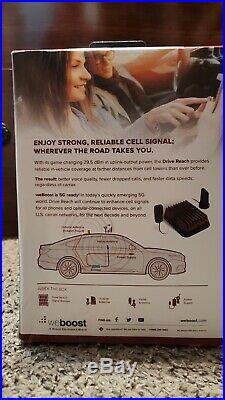 WeBoost Drive Reach 470154 304415 Cell Phone Signal Booster Kit Car Truck SUV
