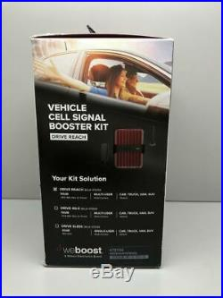 WeBoost Drive Reach (470154) Cell Phone Signal Booster for Your Car, Truck, Van