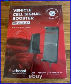 WeBoost Drive Sleek 470135 Vehicle Cell Phone Signal Booster Kit (used)