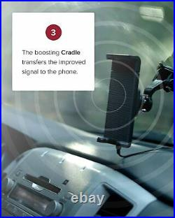 WeBoost Drive Sleek (470135) Vehicle Cell Phone Signal Booster with Cradle Mount