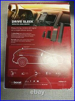 WeBoost Drive Sleek Vehicle Cell Phone Signal Booster with Cradle Mount #123