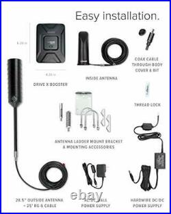WeBoost Drive X RV (471410) Cell Phone Signal Booster All U. S. Carriers New