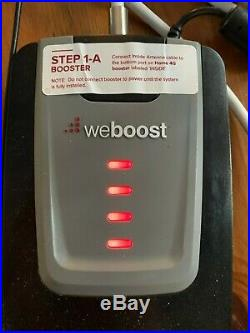 WeBoost Home 4G Cell Phone Signal Booster up to 1500 sq ft 470101
