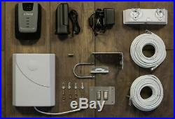 WeBoost Home 4G LTE Desktop Cell Phone Signal Booster Kit #470101 Used