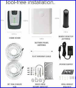 WeBoost Home Room Cell Phone Signal Booster Kit Up to 1,500 sq ft