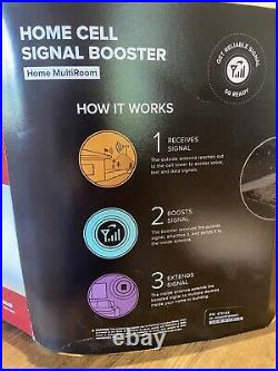 Weboost cell phone signal booster, Multi Room, 5G Ready, Up To 5000 Sq Ft Home