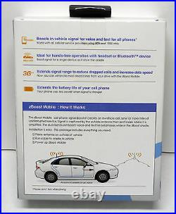 ZB SB cell phone signal booster amplifier help boost Verizon voice call service